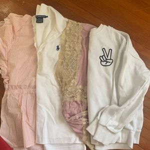 Forever 21/ polo Ralph Lauren bundle of shirts